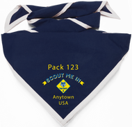 Scout Me In Arched Cub Scout Logo Digitally Printed Neckerchief