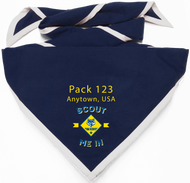 Scout Me In Vertical Cub Scout Logo Digitally Printed Neckerchief