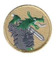 Dragon Warrior Patrol Patch