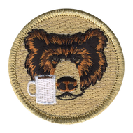 Coffee Cup Bear Patrol Patch
