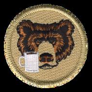 Coffee Cup Bear Patrol Patch