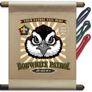 Custom Wood Badge Bobwhite Mini Flag - Flag Only (SP5142)