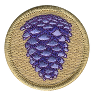 Purple Pinecone Patrol Patch