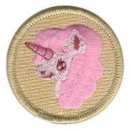 Pink Fluffy Unicorn Patrol Patch