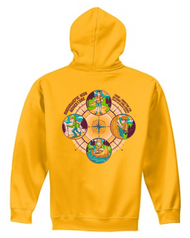 Summer Camp 2019 Hooded Pullover Sweatshirt - Camp Massawepie