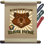 Wood Badge Beaver Mini Flag - Flag Only (SP5144)