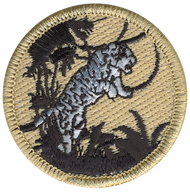 Iron Jaguar Patrol Patch