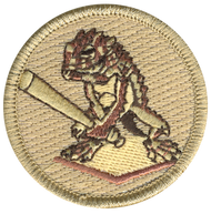 Baseball Horned Toad Patrol Patch