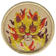 Phoenix Cat Patrol Patch