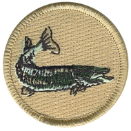Northern Pike Fish Patrol Patch