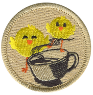 Chicks and Coffee Patrol Patch