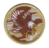 Desert Eagle Patrol Patch