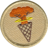 Atomic Ice Cream Cones Patrol Patch