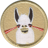 Laser Llama Patrol Patch