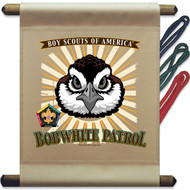 Wood Badge Bobwhite Mini Flag - Flag Only (SP5142)