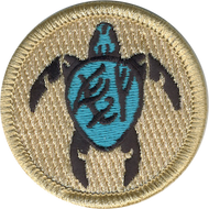 Fearless Firsts Sea Turtles Patrol Patch