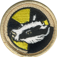 Radioactive Badger Patrol Patch