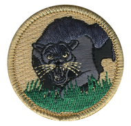 Sneaky Panther Patrol Patch