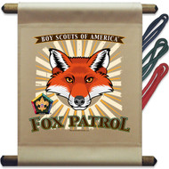 Wood Badge Fox Mini Flag - Flag Only (SP5139)