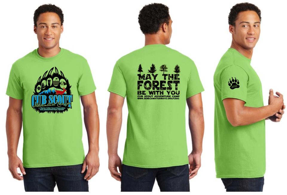 Summer Camp 2019 Short Sleeve Cotton T-Shirt - Camp Cutler