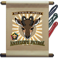 Wood Badge Antelope Mini Flag - Flag Only (SP5137)
