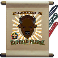 Wood Badge Buffalo Mini Flag - Flag Only(SP5140)