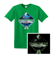 100% Cotton Short Sleeve T-Shirt- Camp Tuscarora