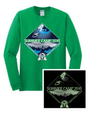 100% Cotton Long Sleeve T-Shirt- Camp Tuscarora