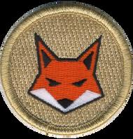 Orange Fox Patrol Patch