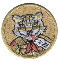 Bacon Snow Leopard Patrol Patch