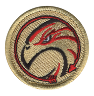 Eagle with Red Arrow Patrol Patch