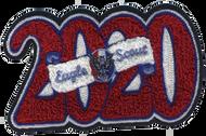 2020 Eagle Scout Letterman Jacket Chenille Patch