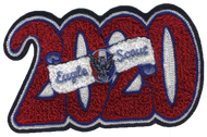 2020 Eagle Scout Letterman Jacket Chenille Patch