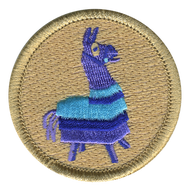 Party Llama Patrol Patch