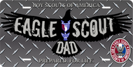 License Plate Eagle Scout Dad Eagle Silhouette SP7323