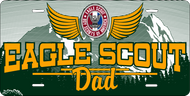 License Plate Eagle Scout Dad  SP7341