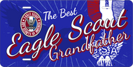 License Plate Eagle Scout Grandfather Eagle Silhouette SP7348