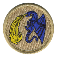 Fire Breathing Dragon Patrol Patch