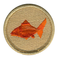 Origami Goldfish Patrol Patch