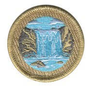 Waterfall Patrol Patch