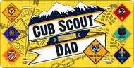 License Plate Cub Scout Dad (SP7419)