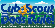 License Plate Cub Scout Dad (SP7421)