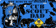 License Plate Cub Scout Dad (SP7422)