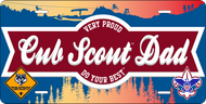 License Plate Cub Scout Dad (SP7423)