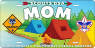 License Plate Cub Scout Mom (SP7411)