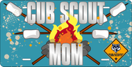 License Plate Cub Scout Mom (SP7408)