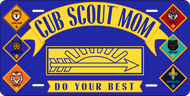 License Plate Cub Scout Mom (SP7412)