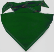 Blank Solid Military Green Neckerchief Troop Size (B414 M 93)
