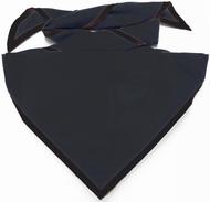 Blank Solid Black Neckerchief Pack Size (B414 Moritz 90)