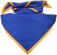 Blank Royal Neckerchief with Gold Piped Edge Troop Size (B848 BST 67/9)